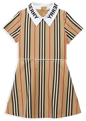 Burberry Little Girl's & Girl's Cambria Check-Print Dress