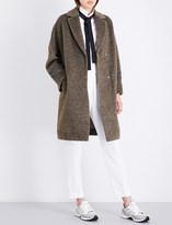 Brunello Cucinelli Beaded-detail woven coat