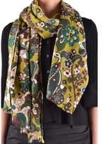 Altea Women's Multicolor Wool Scarf.