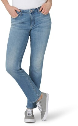 Lee Women's Misses Regular Fit Straight Leg Jean