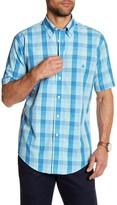 Brooks Brothers Checkered Short Sleeve Slim Fit Shirt