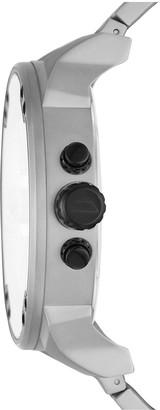 Diesel Mr Daddy 2.0 Grey and Black Detail Multi Dial Stainless Steel Bracelet Mens Watch
