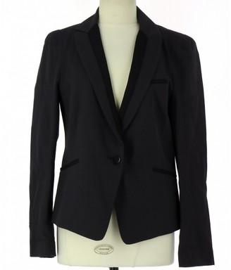 Comptoir des Cotonniers Grey Cotton Jacket for Women