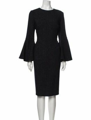 Oscar de la Renta 2019 Midi Length Dress w/ Tags Wool