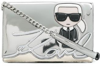 Karl Lagerfeld Paris Ikonic shoulder bag