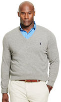 Big & Tall Polo Ralph Lauren Merino Wool V-Neck Sweater