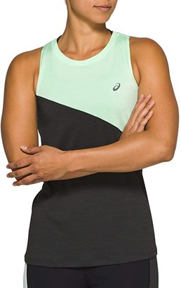 Asics Tokyo Tank (Mint Tint/Graphite Grey) Women's Clothing