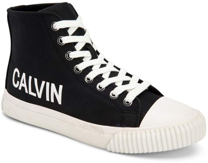 Calvin Klein Jeans Logo High-Top Sneakers