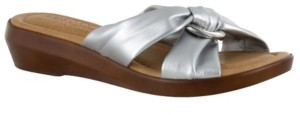 Easy Street Shoes Tuscany by Cella Slide Sandals Women's Shoes