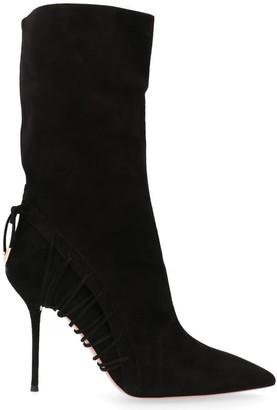 Aquazzura Stiletto Heel Ankle Boots