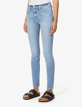 Frame Le High mid-rise skinny jeans