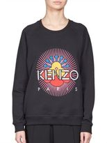 Kenzo Jaspe Brushed Cotton Sweatshirt