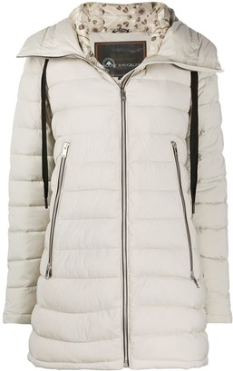 Moose Knuckles Trophy quilted mid-length coat