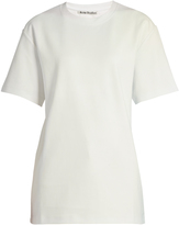 Acne Studios Enya short-sleeved cotton T-shirt