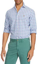 Polo Ralph Lauren Big and Tall Classic-Fit Plaid Cotton Sport Shirt