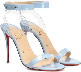 Christian Louboutin Exclusive to Mytheresa a 100 patent leather sandals
