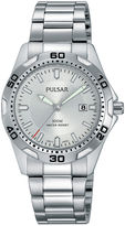 Pulsar Womens Stainless Steel Bracelet Watch