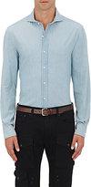 Ralph Lauren Purple Label Men's Keaton Cotton Shirt-BLUE
