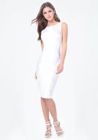 Bebe Petite Sequin Detail Dress