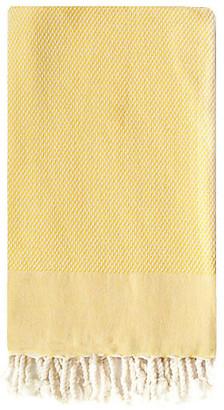 Turkish T Basak Towel - Mustard