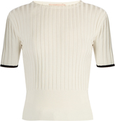 Brock Collection Kylie silk-knit crew-neck top