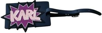 Karl Lagerfeld Paris Blue Cloth Bag charms