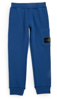 Stone Island Junior Logo-Patch Sweatpants (4-14 Years)