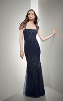 Mignon Trailing Ornament Trumpet Gown VM1173