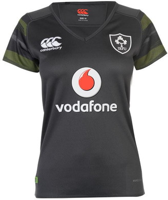 Canterbury of New Zealand Ireland Away Pro Jersey 2017 2018 Ladies