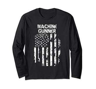 Machine Gunner Long Sleeve T-Shirt