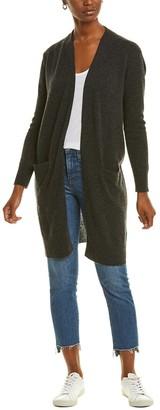 Amicale Cashmere Pocket Cashmere Duster