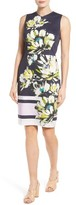 Maggy London Women's Scatter Stem Sheath Dress