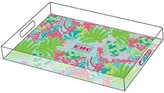 The Well Appointed House Lilly Pulitzer Personalized Large Serving Tray-Checking In