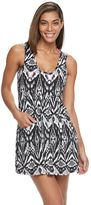 Porto Cruz Women's Portocruz Ikat Babydoll Cover-Up
