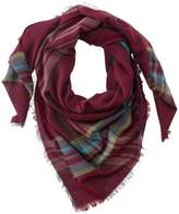 L.L. Bean L.L.Bean Lightweight Wool-Blend Scarf, Plaid