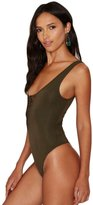 Changeshopping Women New Sexy Bodysuit Plunge Neck Lace Up Tie Front Stretch Playsuit Leotard Jumpsuit Overalls
