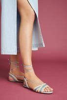 Vicenza Striped Raffia Sandals