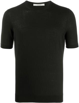 La Fileria For D'aniello crew neck silk T-shirt