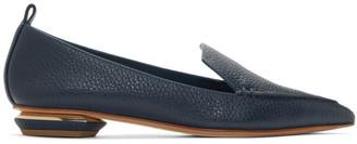 Nicholas Kirkwood Blue Beya Loafers
