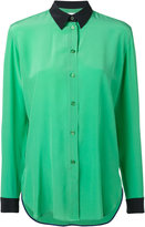 Paul Smith classic shirt - women - Silk/Cupro - 38