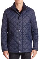 Cole Haan Quilted Fleece Jacket