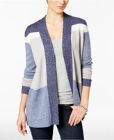 Charter Club Colorblocked Cardigan, Only at Macy's