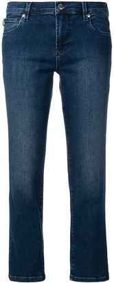Love Moschino Low-Rise Cropped Jeans
