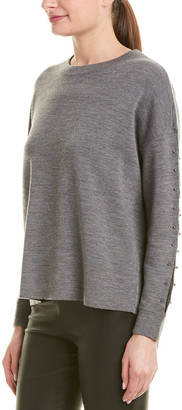 Alice + Olivia Quintin Wool Pullover