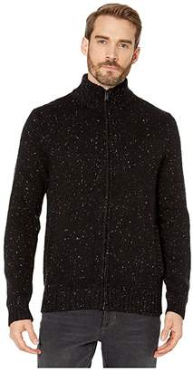 Lucky Brand Donegal Full Zip Mock Sweater