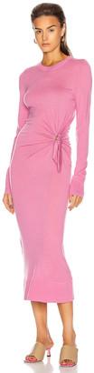 Sies Marjan Selma Superfine Merino Dress in Rose Petal | FWRD