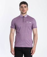 Ted Baker Trybe Linen Trim Polo Shirt