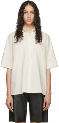 Georgia Alice Off-White Wool Pierre Shirt