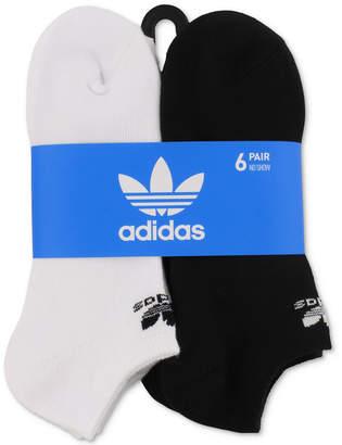 adidas Men 6-Pk. No-Show Socks