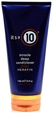 It's A 10 Miracle Deep Conditioner Plus Keratin, 5-oz, from Purebeauty Salon & Spa